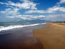 небо моря Стоковая Фотография