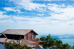 небо моря langkawi холма Стоковые Фотографии RF
