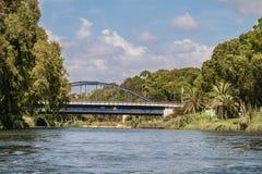 Небо моста воды Стоковые Фото
