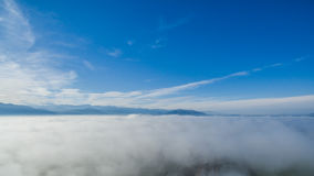 Небо над облаками 06 стоковое изображение