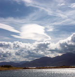 Небо над Skye Стоковое фото RF