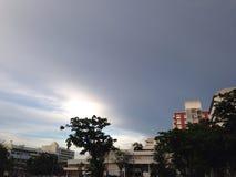 Небо на Бангкоке Стоковые Изображения RF