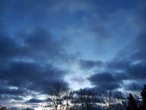 Небо на земле стоковое изображение rf