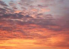 Небо на зоре Стоковая Фотография RF