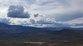 Небо на дни Стоковое Изображение