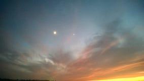 Небо на сумерк Стоковая Фотография RF