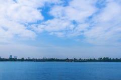 Небо дневного времени Стоковые Фотографии RF