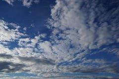 Небо Норвегии с облаками Стоковое фото RF