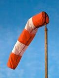 Небо носка ветра голубое Стоковая Фотография