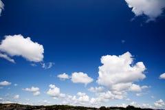 небо облака предпосылки Стоковая Фотография RF