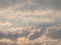 Небо облака искусства ветром Стоковое Изображение RF
