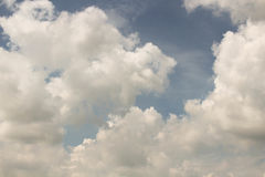 Небо облака искусства по солнцу Стоковые Фото