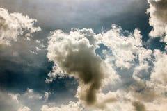Небо облака искусства по солнцу Стоковые Изображения
