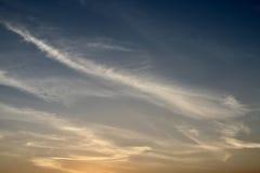 Небо облака искусства светом рая Стоковое фото RF