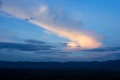 Небо & облако Стоковое Фото