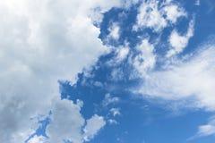 Небо & облако Стоковая Фотография
