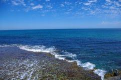 небо океана Стоковые Изображения