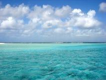 небо океана Стоковое Изображение