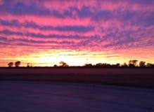 Небо Оклахомы Стоковое фото RF