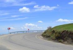 небо дороги коллажа автомобиля смешное Стоковые Изображения RF