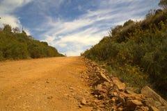 небо дороги к Стоковые Фотографии RF