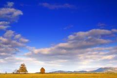 небо осени Стоковые Изображения