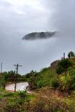 небо острова Стоковая Фотография