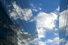 небо отражений Стоковое Фото