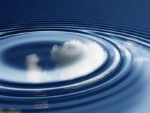 небо отражений Стоковая Фотография RF