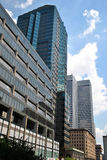 Небо отражения здания Стоковое Фото