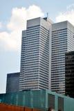 Небо отражения здания Стоковая Фотография RF
