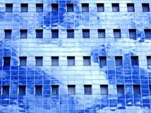 небо отражения офиса здания Стоковые Изображения RF