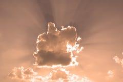 небо отражения Стоковое Изображение RF