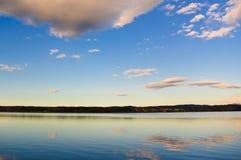 небо отражения Стоковые Изображения