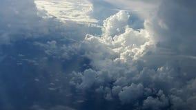 Небо от самолета Стоковые Фото