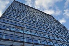 небо офиса блока голубое Стоковое Изображение