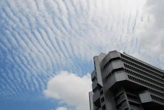 небо офиса здания Стоковая Фотография RF