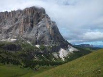 небо панорамы горы фильтра померанцовое Стоковые Фото