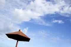 небо парасоля Стоковое Изображение RF