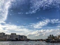 Небо пасмурное Стоковое Изображение RF