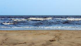 Небо песка моря Стоковое Изображение