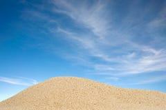 небо песка Стоковые Изображения