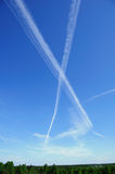 небо письма Стоковые Фотографии RF