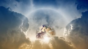 небо планеты земли стоковые фото
