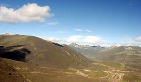 небо плато горы Стоковые Фото