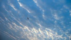 Небо после полудня сезона муссона стоковая фотография
