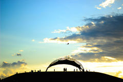 Небо праздника Стоковые Фотографии RF