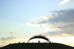 Небо праздника Стоковое фото RF