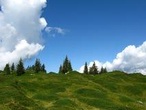 небо предела Стоковые Изображения