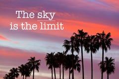 Небо предел стоковые фото